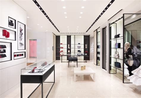 Home Design Store : Chanel Store In California By Peter Marino