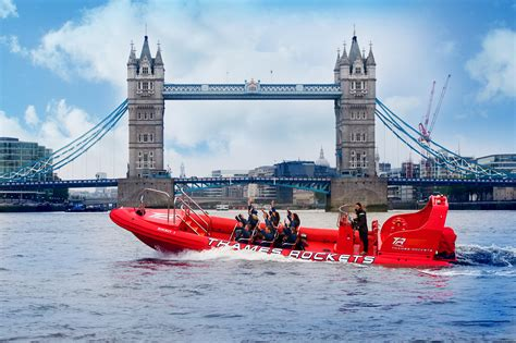 Boat Ride In London by Thames Rockets High Speed Boat Ride Things To Do In London