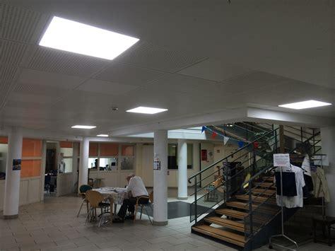 dalle led faux plafond 60 x 60 40w 4500 176 k plafonniers