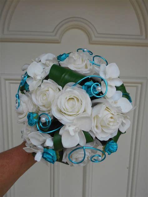 les 25 meilleures id 233 es concernant bouquets de mariage turquoise sur fleurs de