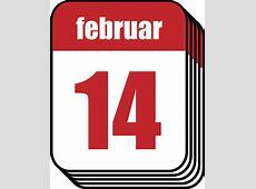 Kostenlose Vektorgrafik Kalender, Februar, Valentine