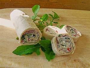 Wraps Füllung Vegetarisch : rucola schinken wraps von nafalie ~ Markanthonyermac.com Haus und Dekorationen