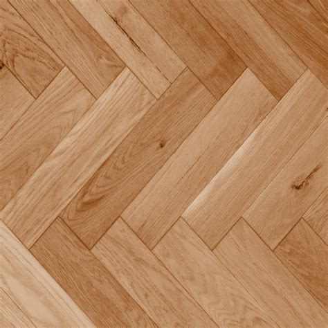 Herringbone, Red Oak Natural Smooth  Vintage Hardwood
