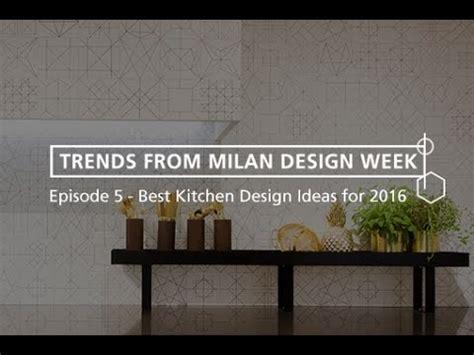 Best Kitchen Design Trends From Milan Design Week 2016