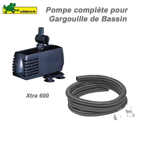 pompe pour gargouille de bassin ext 233 rieur xtra 600 ubbink 1386290 u