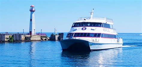 Catamaran Mackinac Island by File Star Line Hydro Jet Mackinac Island Ferry Catamaran