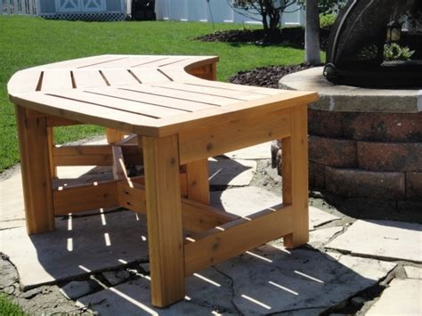 Curved Fire Pit Bench  Fire Pit Ideas