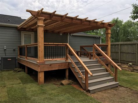 Attached Pergolas And Decks — Peaceful Settings