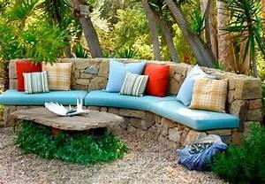 Lounge Polster Selber Machen : eine schicke garten lounge zum relaxen gestalten loungem bel und deko ~ Markanthonyermac.com Haus und Dekorationen