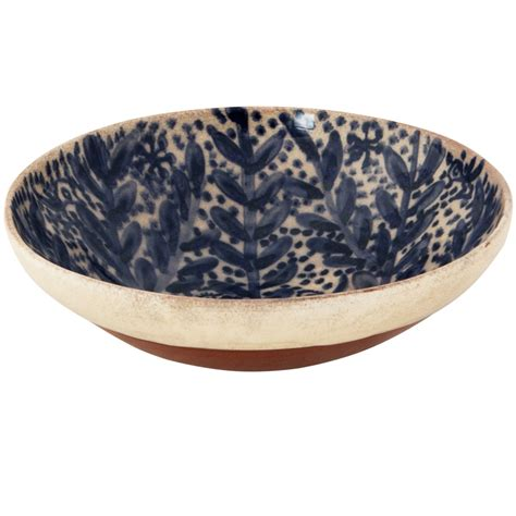 Decorative Bowls For Coffee Tables  Dotted Flower