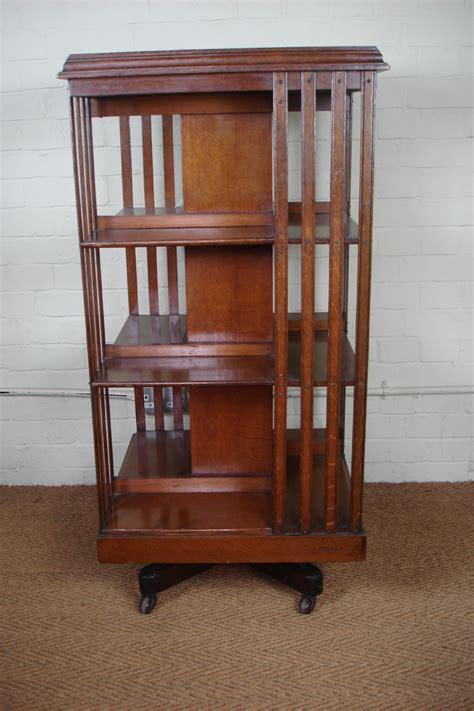 Victorian Oak Revolving Bookcase 331690