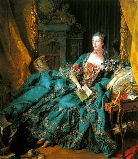 madame de pompadour 1756 francois boucher wikiart org