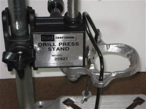 craftsman drill press stand manual model 25291 for 1 4 3 8 electric drills ebay