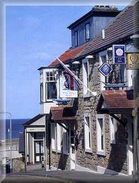 Fishing Boat Inn Craster by The Olde Ship Inn Seahouses Northumberland England