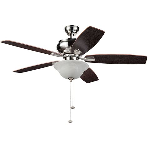 mainstays 52 quot ceiling fan with light kit bronze 17810 walmart