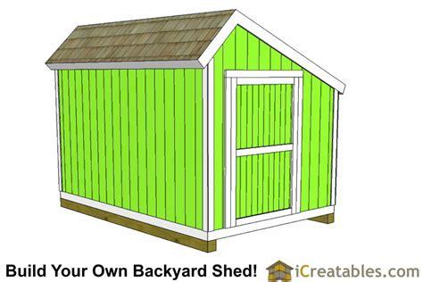 10x12 salt box shed plans saltbox storage shed