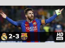 Messi's 500th Barca goal is lastminute winner in El