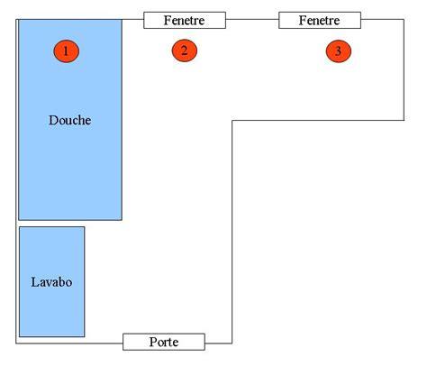 agr 233 able schema salle de bain 6 position bouches a233ration vmc hygro b dans une salle de