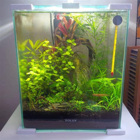exhausteur et nano aquarium