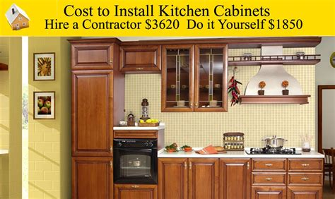 Cost To Install Kitchen Cabinets  Youtube