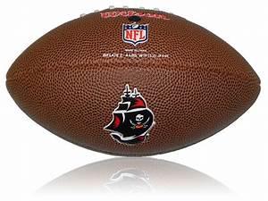 Wilson NFL Mini Team Logo Ball Tampa Bay Buccaneers
