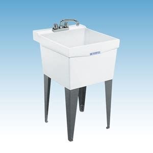 mustee 18f and 18w utilatub 174 laundry utility tubs premier