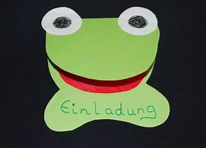 Einladung Kindergeburtstag Gestalten : einladung frosch kinderspiele ~ Markanthonyermac.com Haus und Dekorationen