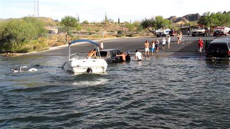 Boat R Closures Canyon Lake by Truck In Canyon Lake Az August 20 2011 Part 1 Youtube