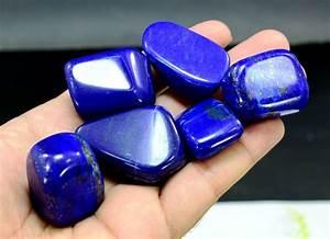 Royal Blue Lapis Lazuli : best quality royal blue lapis lazuli tumbles 191 gm 6 catawiki ~ Markanthonyermac.com Haus und Dekorationen