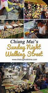 Sunday Night Walking Street in Chiang Mai, Thailand - The ...