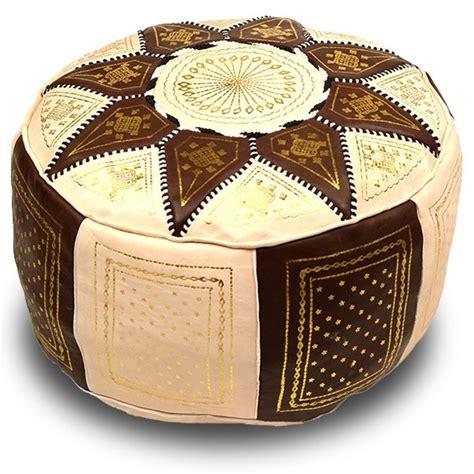 pouf marocain poufs marocains en cuir marokech