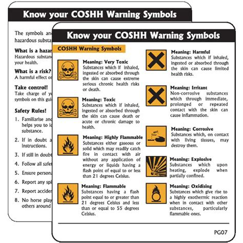 Coshh Warning Symbols Pack Of 10 Pg07. Work In Progress Signs Of Stroke. Music Notes Signs Of Stroke. Ulceration Signs. Vehicular Heatstroke Signs Of Stroke. Radon Levels Signs. Indie Signs. Trumbull County Signs. Algorithm Signs