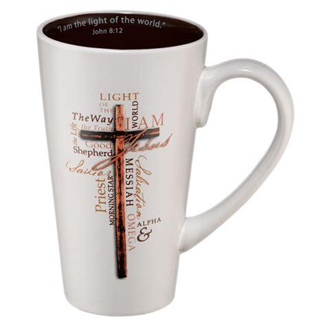 Coffee Mug: Light of the World   John 8:12