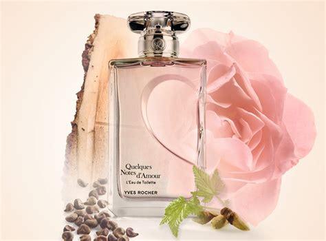 quelques notes d amour l eau de toilette yves rocher perfume a new fragrance for 2016