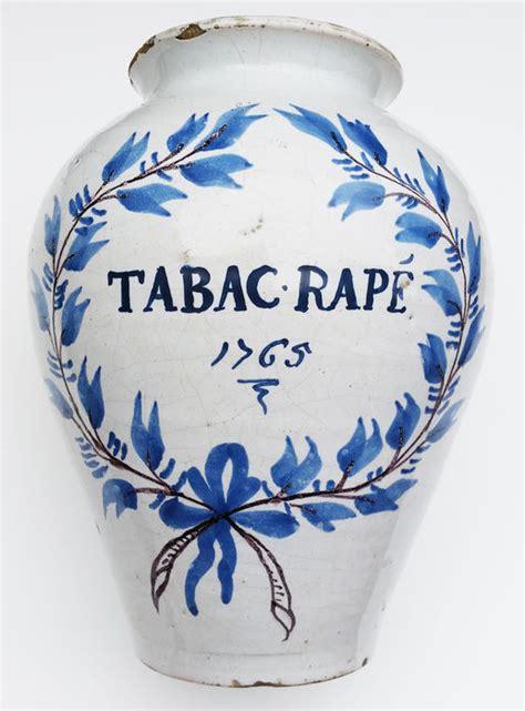 pot 224 tabac ancien tabac rap 233 dat 233 de 1765 catawiki