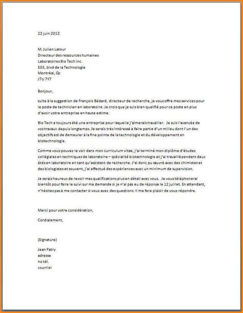 4 lettre de motivation infirmier d 233 butant format lettre
