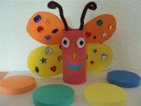 papillon avec un rouleau de papier wc http nounoudunord centerblog net 129 lison 2 ans et demi