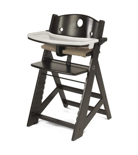 keekaroo height right high chair with tray espresso