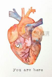 1000+ ideas about Watercolor Heart on Pinterest | Triangle ...