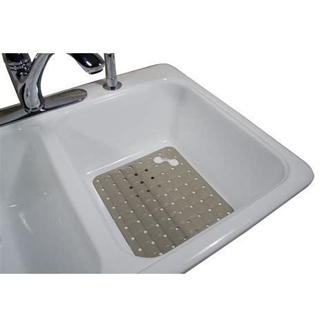 rubbermaid large white sink mat home kitchen kitchen