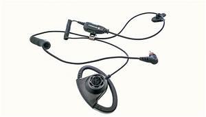 Adjustable D-Style Earpiece (PMLN7159) - Motorola Solutions
