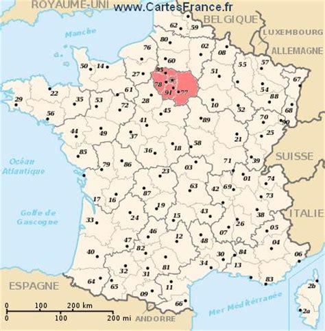 ile de map cities and data of the region 206 le de