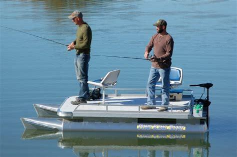 Little Pontoon Boat by Mini Pontoon Boats Small Pontoon Fishing Boats Pond King