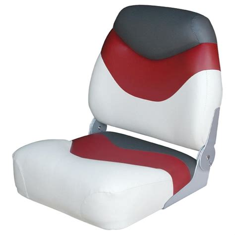 Red Fishing Boat Seats by Wise Premium High Back Fishing Boat Seat 96436 Fold