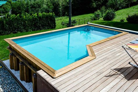 piscine bois semi enterr 233 e