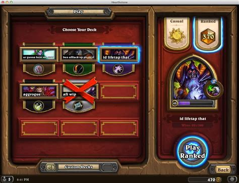 hearthstone no leeory zoolock legendary deck guidescroll