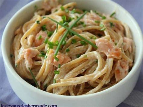 recettes de p 226 tes au saumon et cuisine facile