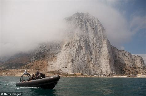 Boat In The Water In Spanish by Gibraltar Flotilla Of Fishermen In Stand Off With Royal