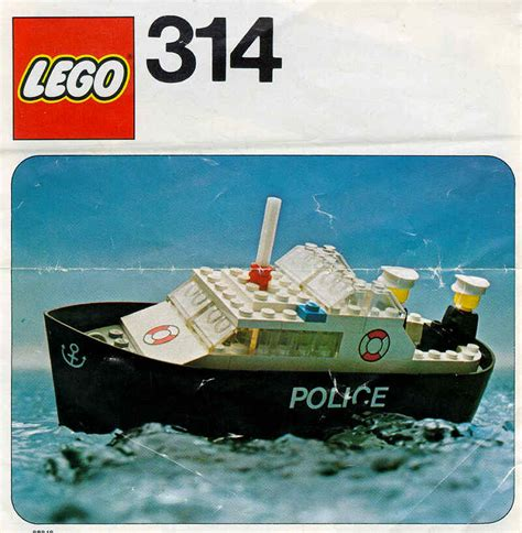 Lego City Police Boat Instructions by Lego Police Boat Instructions 314 Legoland