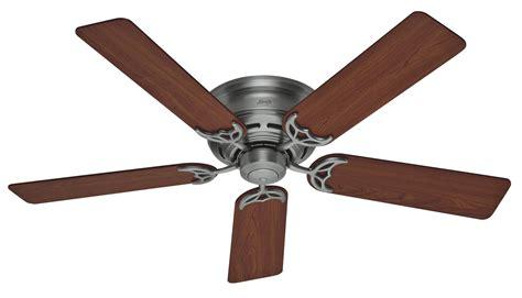 Low Profile Ceiling Fan by 52 Quot Low Profile Iii Ceiling Fan 20807 In Antique
